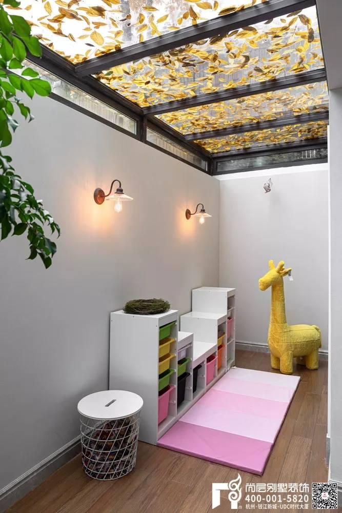 尚层装饰400平别墅儿童区游乐园装修设计