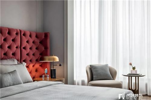 尚层220平现代法式风格别墅卧室家具摆放