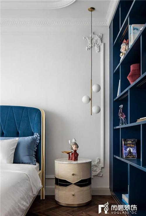 尚层220平现代法式风格别墅女儿房设计