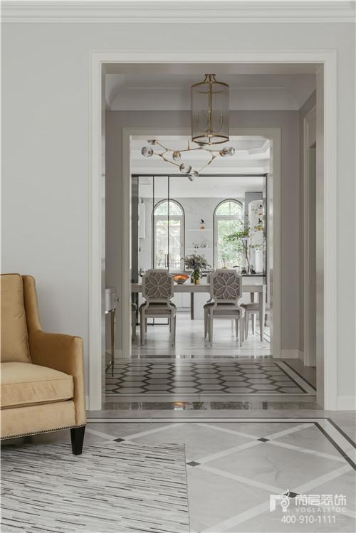 380㎡現代美式風格別墅裝修設計
