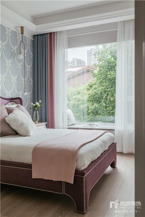 380㎡現代美式風格臥室設計