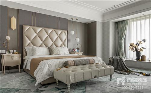 尚层装饰旧墅新装实景作品主卧室设计