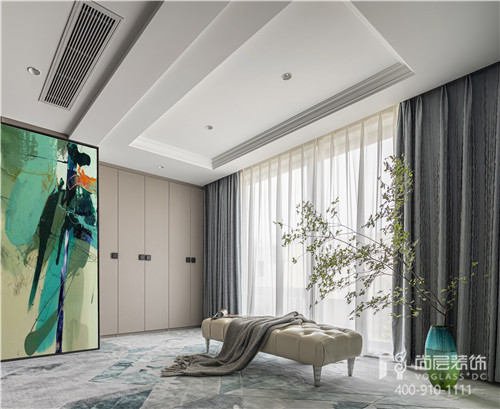 尚层装饰旧墅新装实景作品三楼空间设计